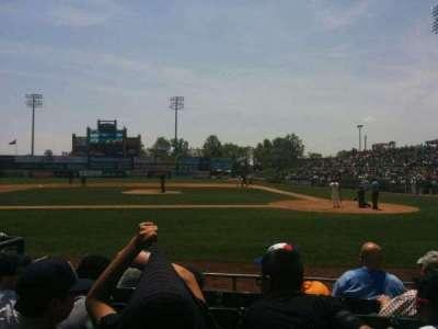 TD Bank Ballpark, vak: 110, rij: f, stoel: 5
