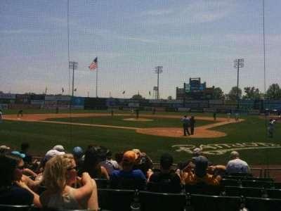 TD Bank Ballpark, vak: 104, rij: i, stoel: 6