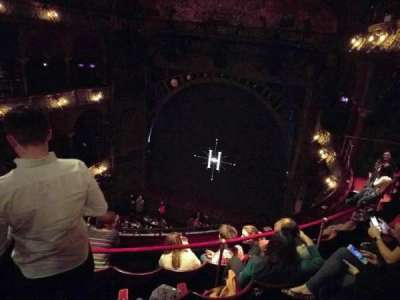 Palace Theatre (West End), vak: Upper Circle, rij: E, stoel: 13
