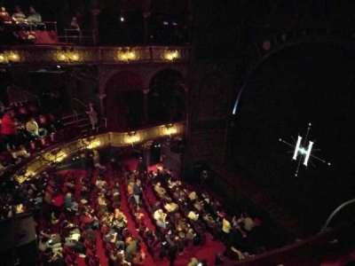 Palace Theatre (West End), vak: Upper Circle, rij: B, stoel: 4