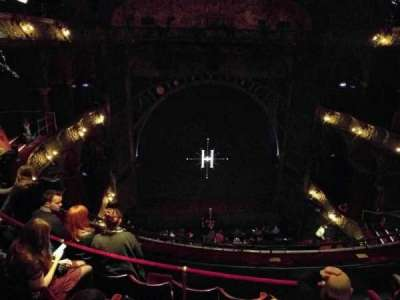Palace Theatre (West End), vak: Upper Circle, rij: E, stoel: 25