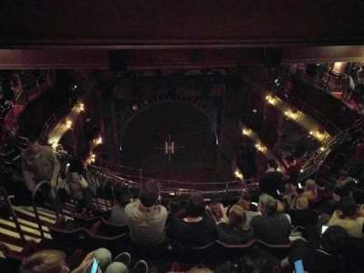 Palace Theatre (West End), vak: Balcony, rij: j, stoel: 19