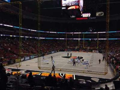Honda Center, vak: 214, rij: S, stoel: 7
