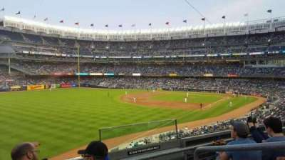 Yankee Stadium, vak: 231, rij: 3, stoel: 2