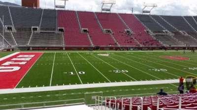 Rice-Eccles Stadium, vak: W15, rij: 15, stoel: 5