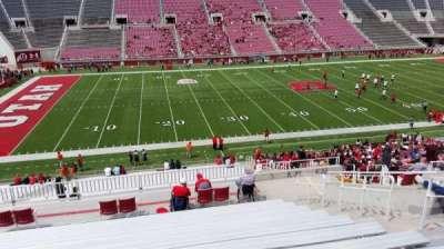 Rice-Eccles Stadium, vak: E38, rij: 36, stoel: 16