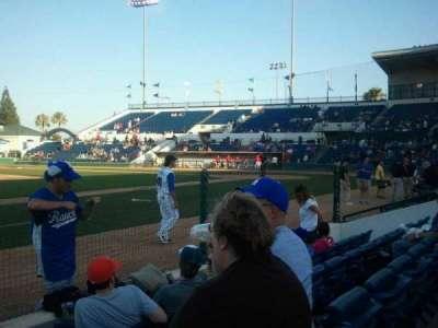 LoanMart Field, vak: FB12, rij: D, stoel: 16