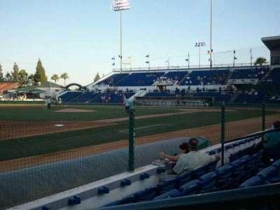 LoanMart Field, vak: FB16, rij: D, stoel: 1