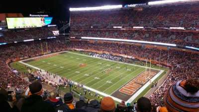FirstEnergy Stadium, vak: 540, rij: 15, stoel: 11
