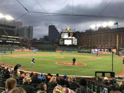 Oriole Park at Camden Yards, vak: 40, rij: 14, stoel: 2