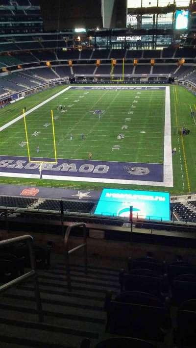 AT&T Stadium, vak: 345, rij: 5