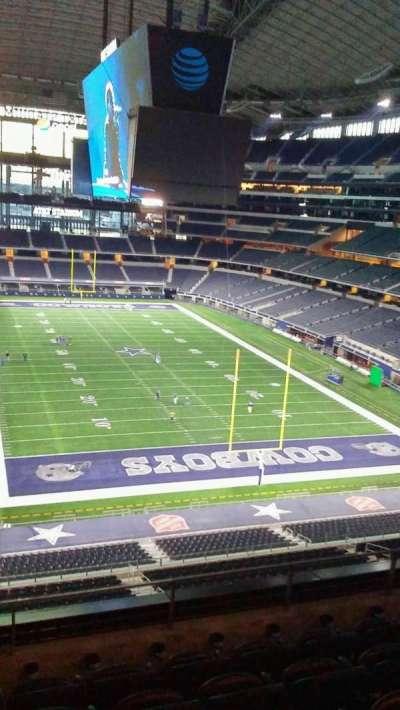 AT&T Stadium, vak: 350, rij: 5