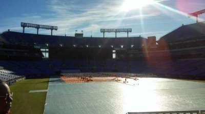 M&T Bank Stadium, vak: 115, rij: 42, stoel: 1