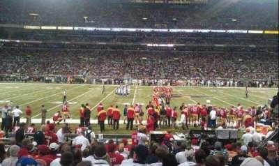 The Dome at America's Center, vak: 141, rij: J, stoel: 28