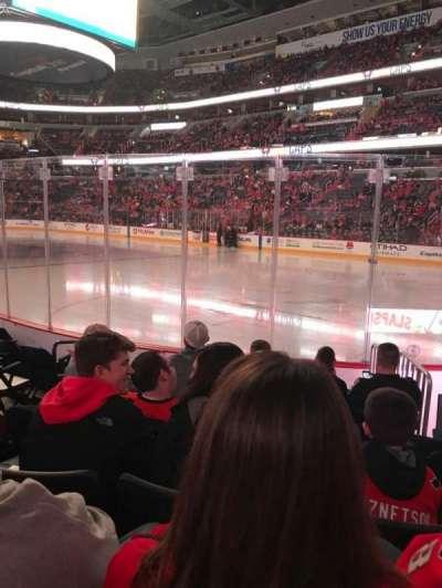Capital One Arena, vak: 103, rij: G, stoel: 5