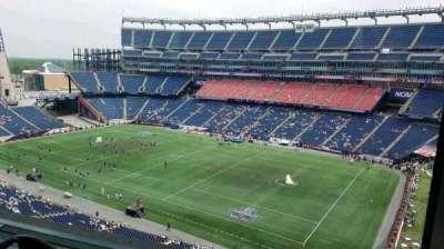 Gillette Stadium vak Suite B64