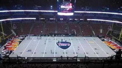 Honda Center, vak: 434, rij: M, stoel: 8