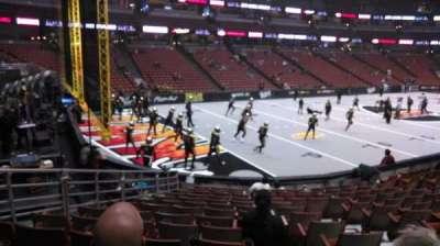 Honda Center, vak: 212, rij: P, stoel: 8