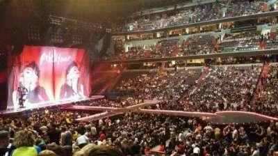 Capital One Arena, vak: 101, rij: t, stoel: 15