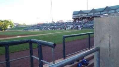 TD Bank Ballpark, vak: 118, rij: AA , stoel: 1