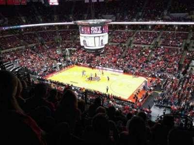 Value City Arena, vak: 320, rij: K, stoel: 5