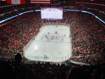 Little Caesars Arena, vak: 218, rij: 10, stoel: 18