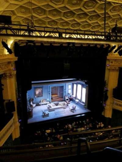 Hudson Theatre, vak: Balcony, rij: C, stoel: 1