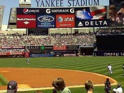 Yankee Stadium, vak: 116, rij: 10