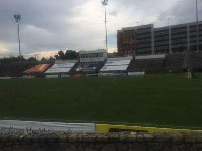 American Legion Memorial Stadium, vak: 16R, rij: F, stoel: 17