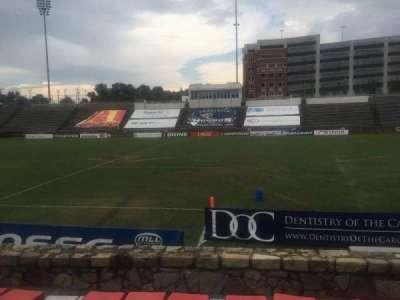 American Legion Memorial Stadium, vak: 17R, rij: F, stoel: 9