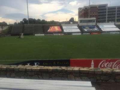 American Legion Memorial Stadium, vak: 20R, rij: F, stoel: 1