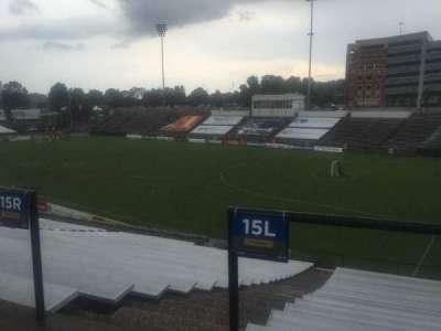 American Legion Memorial Stadium, vak: 2, rij: CC, stoel: 11