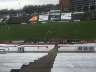 American Legion Memorial Stadium, vak: 8, rij: PP, stoel: 17
