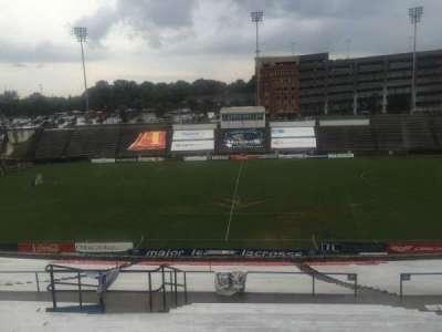 American Legion Memorial Stadium, vak: 10, rij: LL, stoel: 19