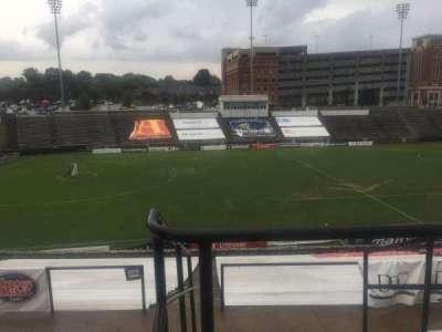 American Legion Memorial Stadium, vak: 11, rij: GG, stoel: 2
