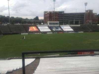 American Legion Memorial Stadium, vak: 14, rij: CC, stoel: 3