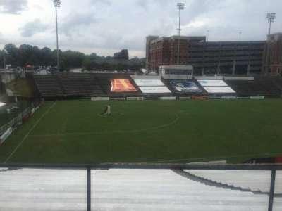 American Legion Memorial Stadium, vak: 15, rij: Hh, stoel: 2