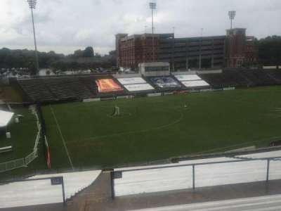 American Legion Memorial Stadium, vak: 16, rij: HH, stoel: 17