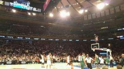 Madison Square Garden, vak: 5, rij: 3, stoel: 10