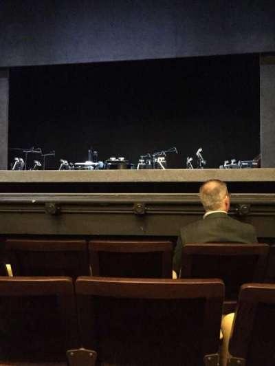 Hudson Theatre, vak: Orchestra, rij: D, stoel: 112