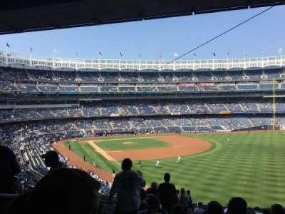 Yankee Stadium, vak: 208, rij: 19, stoel: 22