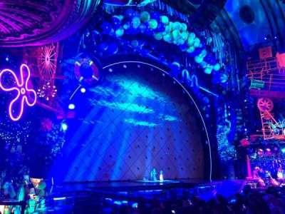 Palace Theatre (Broadway), vak: Orchestra, rij: L, stoel: 1