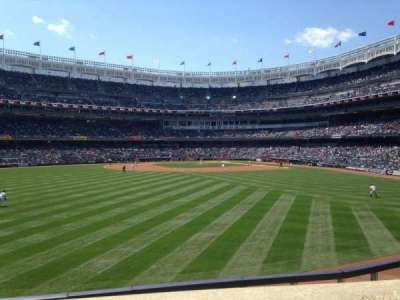 Yankee Stadium, vak: 238, rij: 1, stoel: 1