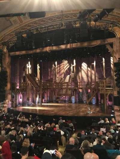 Richard Rodgers Theatre, vak: Orch, rij: P, stoel: 8-10