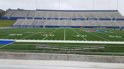 Joe Aillet Stadium, vak: F, rij: 9, stoel: 13