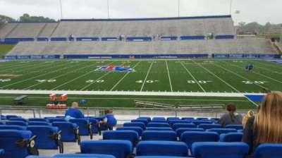 Joe Aillet Stadium, vak: D, rij: K, stoel: 12