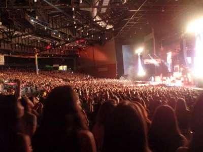 Xfinity Arena, vak: 400, rij: Kk, stoel: 430