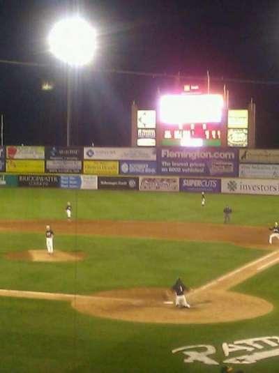 TD Bank Ballpark, vak: 204, rij: F, stoel: 2