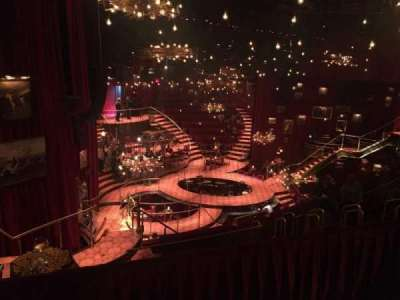 Imperial Theatre, vak: Rear Mezzanine, rij: A, stoel: 4