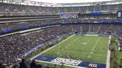 MetLife Stadium, vak: 249B, rij: 16, stoel: 20